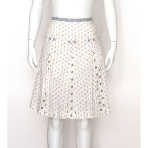 NWT Odille Anchor Print Skirt from Anthropologie